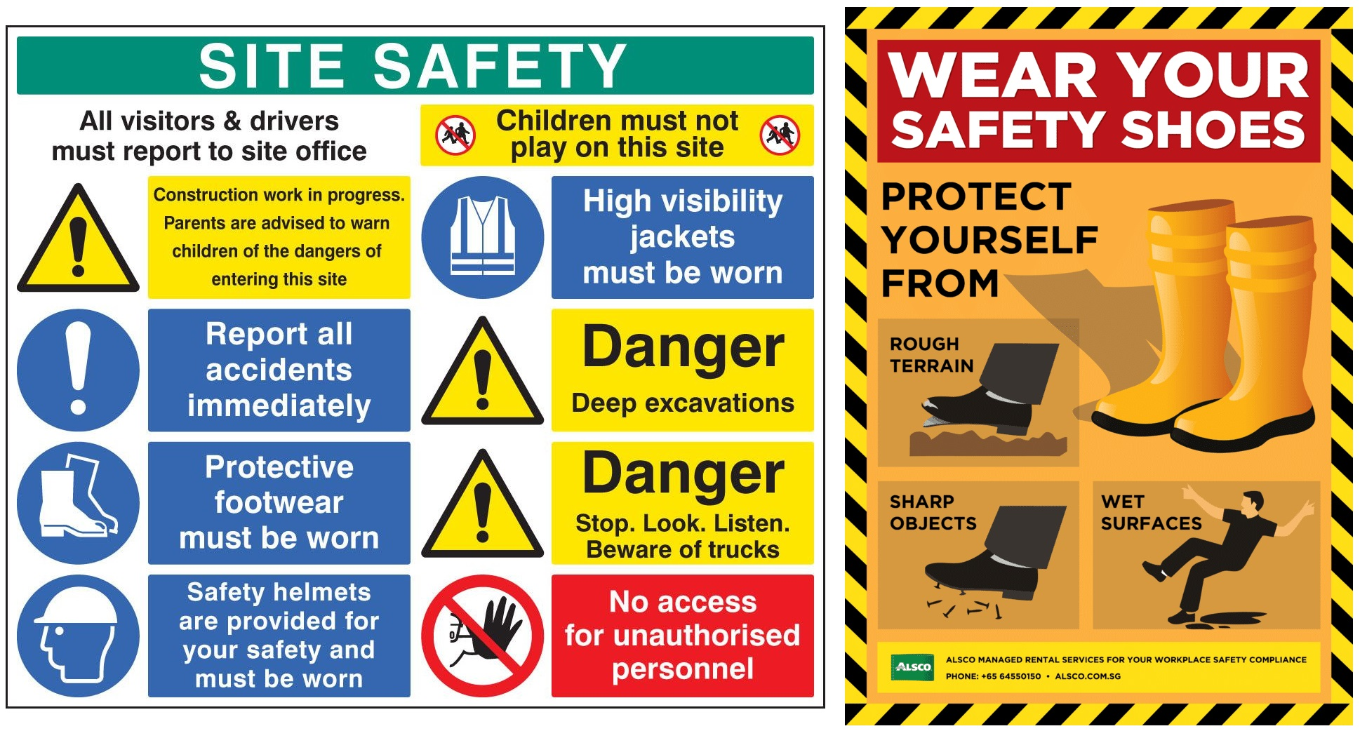 Safety Signages And Posters Qn Industrial Solutions
